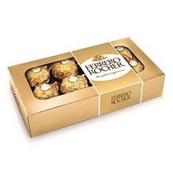 Шоколадови бонбони Ferrero Rocher 8бр. 100g