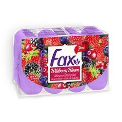 Тоалетен сапун Fax 4*70gr. Горски плодове