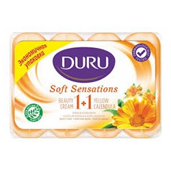 Duru Тоалетен сапун 1+1 Soft Sensations Невен 90 гр. х 4