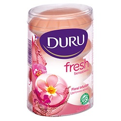 Duru Fresh Sensations Тоалетен сапун цветна магия 110gr. х 4
