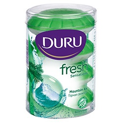 Duru Fresh Sensations Тоалетен сапун планинска свежест 110gr. х 4