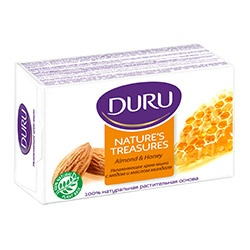 Duru Тоалетен сапун Nature's Treasures с бадем и мед 90гр