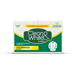 DURU Clean&White сапун за пране за бяло пране 125гр. х 4