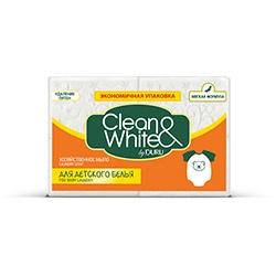 DURU Clean&White сапун за пране за бебешки дрехи 125гр. х 4