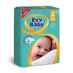 Evy Baby Пелени MINI размер (2) 3- 6кг, 54бр.