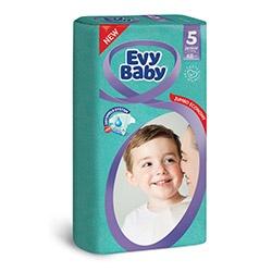Evy Baby Пелени Junior размер (5), 12-25кг, 48бр.