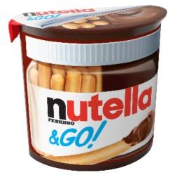 Какаов крем Nutella&Go със стиклети 52g