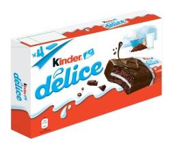 Десерт Kinder Delice 4бр. 156g