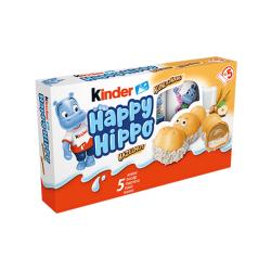 Десерт Kinder Happy Hippo Лешник 5бр. 103,5g