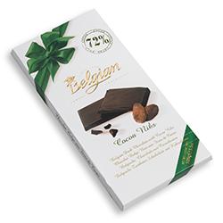 Черен шоколад с парченца какао