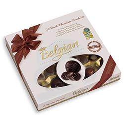 Бонбони Морски фигури с черен шоколад