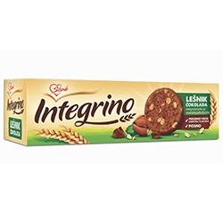 Бисквити Интегрино с лешник и шоколад
