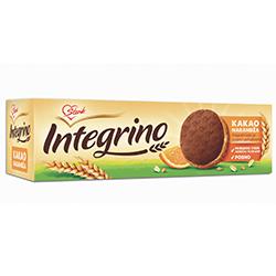 Бисквити Интегрино с портокал и какао